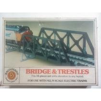 -full- Puente Con Pilares Escala N Bachmann 7551