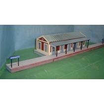 Estacion De Trenes De Pueblo - Nvm Hobbies - Escala H0