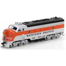 D_t Athearn F7 A Wester Pacific 80234