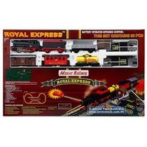 (d_t) Royal Express Tren A Pilas Y C/remoto El Mas Grande