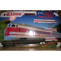 Set De Tren Etr 450 Pendolino Lima Ho Consulte Stock