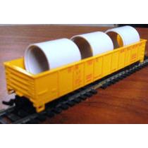 Vagon De Carga Tren Union Pacific Gondola Con Garga