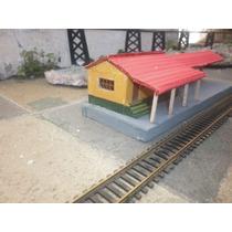 Estacion De Campo Ferrocarril Argentino H0