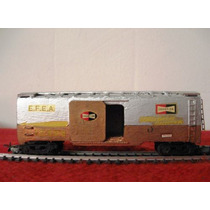 Vagon De Carga Cerrado Tren Ferrocarril Argentino Esc Ho