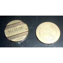 Entel Cospel Antiguo Telefono Numero 609 Moneda En La Plata