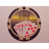 Ficha De Casino - Cartas De Poker