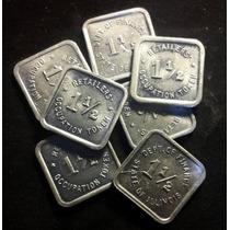 Chinacoins / Tax Token De Illinoins (usa) Aluminio Impecable