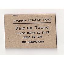 Ficha De Vendimia Pacifico Tittarelli Savo Vale 1 Tacho