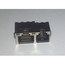 Conector Hembra Lan Rj45/11 (incluye Leds Status)