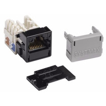 Jack Ficha Conector Rj45 Cat 6a Red Lan Systimax Commscope