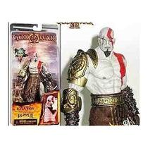 God Of War Kratos Cabeza De Medusa Neca