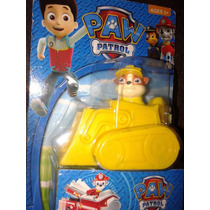 Paw Patrol Autos Chase Marshall Y Rubble En Blister