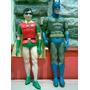 Batman Y Robin Muñecos Goma Hamilton Gift Dc 1977 Adam West