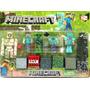 Minecraft X6 Muñecos Articulados + 6 Cajas + Armas Excelente