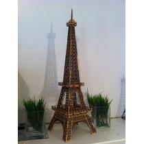 Torre Eiffel 60cm Mdf 3mm Fabricantes Medidas A Pedido 24hs