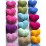 Corazones Tejidos A Crochet. Para Artesanías, Souvenirs.