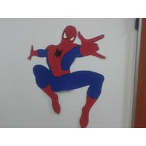 Hombre Araña En Goma Eva 80 Cm. Cualquier Personaje!!
