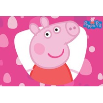 3 Golosineros Souvenir Pepa Pig Goma Eva Cumple Tematico