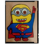 Minion Superman Goma Eva - 10cm