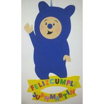 Cartel Cumpleaños - Billy | Bam Bam - Goma Eva 65 X 40 Cm