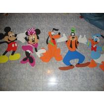 Figuras En Goma Eva Mickey Y Minnie