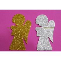 Formitas Figuras En Goma Eva Con Glitter Brillosas Pack
