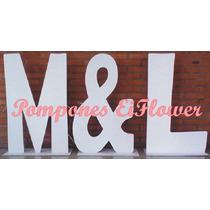 Letras Love Y Letras Grandes Casamiento Somos Fabricantes!