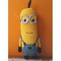 Minion Kevin Muñeco Tejido Crochet Amigurumi