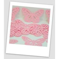 60 Mariposas Troqueladas De Cartulina