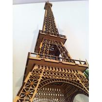 Torre Eiffel 25cm Mdf 3mm Fabricantes Medidas A Pedido 24hs