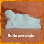 Buda Acostado De Yeso