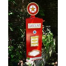 Surtidor De Gasolina Antiguos En Mdf