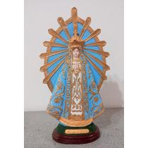 Virgenes Y Santos De Yeso Pintados
