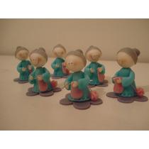 40 Souvenires Abuela En Porcelana Fria + Central