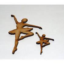 Figuras Fibrofacil Colibri Ó Bailarina 10 Cm Alto X 10 Unid