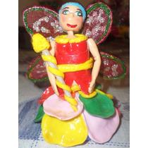 Muñeca Hada En Porcelana Fria
