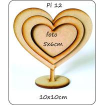 Portaretrato Souvenir Corazon, Fibrofacil 3 Mm
