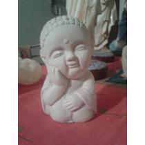 Oferta Buda Bebe Del Pensamiento Yeso Para Pintar 13 Cm