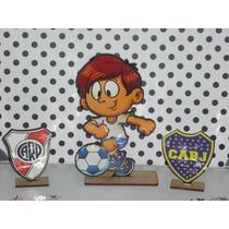 20 Souvenirs + Central Jugador De Futbol Boca Y River