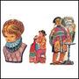 10 Figuritas De Brillantes Periquita