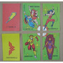 Lote De 6 Stickers Tipo Chocolate Bariloche Dc Años 80´s