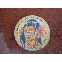 Antigua Figurita Album Totem 1965-n.106 Muchacha De Bananal