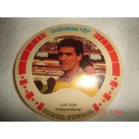 Figurita Autoadhesivo Superfutbol/ Independiente/ Luis Islas