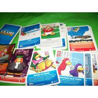 Lote De 18 Cards De Club Penguin - No Envio