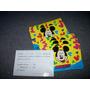 Lote 40 Invitaciones Cumpleaños Mickey Disney - No Envio