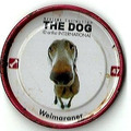 Chapita Tazo The Dog Pepsico Weimaraner