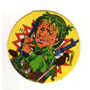 Figurita Redonda Album Chapitas 1981 Combate Nº111