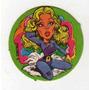 Figurita Redonda Álbum Chapitas 1981 Susana Giménez Nº 92