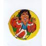 Figurita Redonda Album Chapitas 1981 Cacho Castaña Nº54