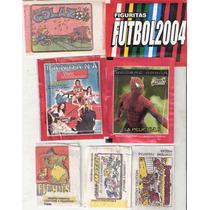 Lote Oferta : 32 Paquetes Figuritas + 7 Albumes - Futbol